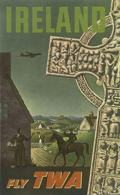 (31) Posters retro de turismo alrededor del mundo