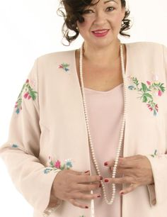 Alternative Bridal Formal Custom Jacket Wildflowers Embroidered Beaded Silk Pink Sizes 14 –SHOP NOW: Unique jackets for women Sizes 14 - mother of the bride, special occasion, artwear, elegant and unique women's clothing,xoPeg 32 Day To Night Outfits, Evening Outfits, Mature Fashion, Plus Size Fashion, Mother Of The Bride Jackets, Formal Dresses With Sleeves, Unique Clothes For Women, Bridal And Formal, Plus Size Designers