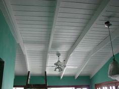 pintar techo de madera de blanco - Buscar con Google