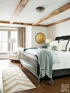 Hardwood lasts longer than other flooring options, and it can be refinished several times or re-stained to change the appearance. Discover tips for installing hardwood floors or planks, plus ideas for refinishing hardwood floors. House Cleaning Tips, Diy Cleaning Products, Deep Cleaning, Cleaning Hacks, Organizing Tips, Spring Cleaning, Organization, Neutral Bedrooms, Bedroom Colors