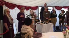 Countess of Wessex gives thanks to the Women's Land Army at tribute ceremony in October 2014.