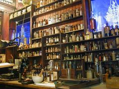 New Orleans Pharmacy Museum... what we missed out on at Midyear 2011 b/c of hurricains :)