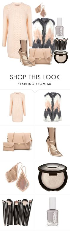 """Untitled #1959"" by social-outcast-16 ❤ liked on Polyvore featuring Paul & Joe Sister, Rebecca Taylor, Steve Madden, Kendra Scott and Essie"