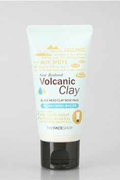 The Face Shop Volcanic Clay Black Head Clay Nose Pack Shop