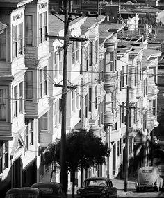 San Francisco, 1940s-50s © Fred Lyon