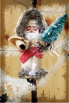 Magic of Christmas.. Victorian Cotton Battng Ornament http://terribrushdesigns.ning.com/workshops/magic-of-christmas