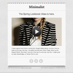 Example of Email Template