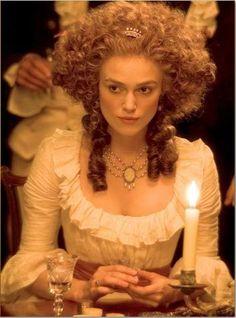 Keira Knightley as Georgiana Cavendish, Duchess of Devonshire in The Duchess (2008)