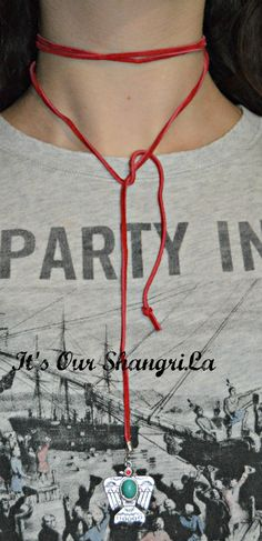 Wrap Choker Necklace  Suede Wrap Choker by ItsOurShangriLa on Etsy