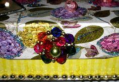 JEWELRY KEEPSAKE WEDDING trinket box with Vintage by wowitems4less