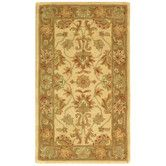 Found it at Wayfair - Heritage Ivory/Brown Area Rug