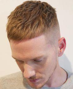 Men's Short Undercut Haircut