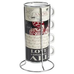 Love Stacking Mug Set