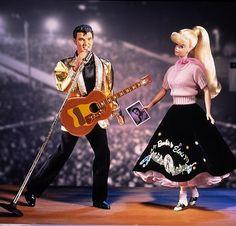Barbie Loves Elvis Gift Set Collector Edition, 1997.
