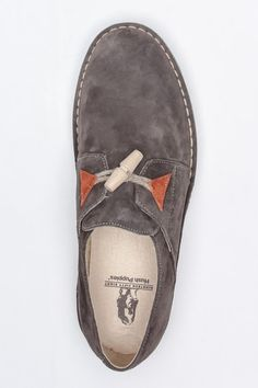 Versatile grey suede shoes