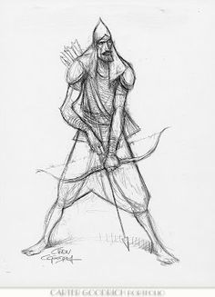 Living Lines Library: Sinbad: Legend of the Seven Seas (2003) - Character Design / Carter Goodrich