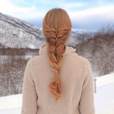 layered twist around hairstyle aurorabraids