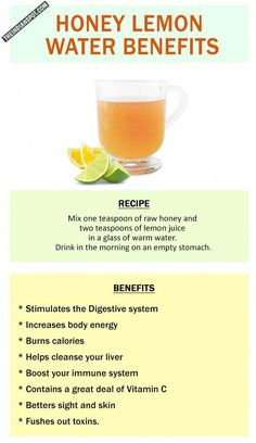 A detox drink first thing in the morning is essential since it balances the pH in our intestines and regulates bowel movement too. We are all aware how beneficial honey and lemon is for our body and many have lemon water or honey water in the morning whic Jus Detox, Detox Kur, Cleanse Detox, Health Cleanse, Liver Cleanse, Body Cleanse, Healthy Detox, Healthy Drinks, Diet Drinks