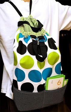 Cosa una mochila - Tutorial gratuito | PatternPile.com