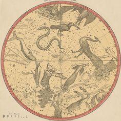 ATLAS OF THE HEAVENS Elijah Burritt, 1856