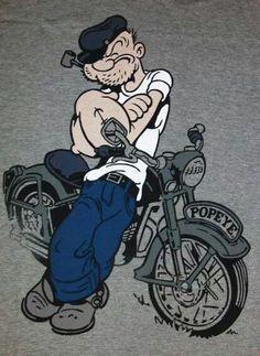 Até o Popeye sabe o q é bom...