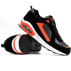 Airtech Mens Shock Absorbing Running Shoe Trainers Jogging Gym Fitness Trainer New Shoes (Black / Grey / Ora No description (Barcode EAN = 5053450090768). http://www.comparestoreprices.co.uk/december-2016-5/airtech-mens-shock-absorbing-running-shoe-trainers-jogging-gym-fitness-trainer-new-shoes-black--grey--ora.asp
