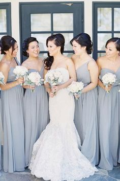 grey and white wedding palette // brides of adelaide magazine