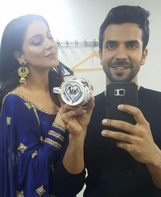Cutest Couple Ever, Cute Stars, Tv Couples, Bollywood Saree, Cute Celebrities, Indian Attire, Sweet Couple, Indian Designer Wear, Beautiful Indian Actress