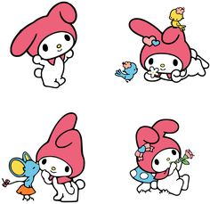 Little Twin Stars Uploaded Free Svg Files Hello Kitty