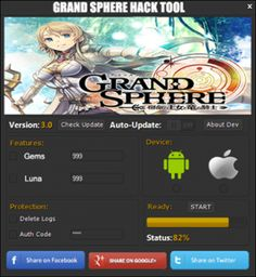 Grand Sphere Hack Cheats Unlimited Gold Gems   Mod Hacks
