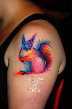 Ardilla by TattoosByCata on DeviantArt