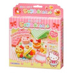 Hello Kitty Clay Waffle Making Kit.
