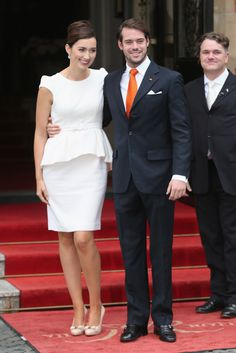 Luxembourg royal wedding: Prince Felix weds Claire Lademacher - Photo 3 | Celebrity news in hellomagazine.com