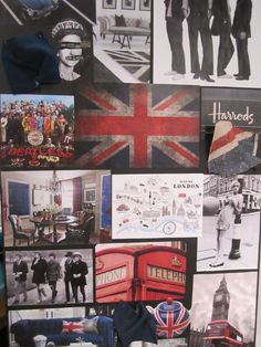 London's Calling Story Board by Brentwood Classics www.brentwoodclassics.com