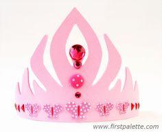 Princess Anna Craft Foam Crown craft