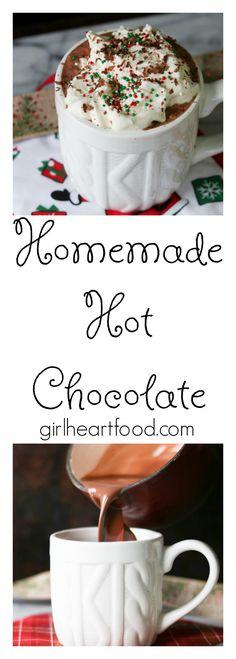 Homemade Hot Chocola