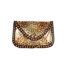 I love the Steve Madden Oversized Glazed Envelope Clutch from LittleBlackBag