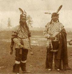 Unidentified, Chief Cloud in Wisconsin - Ojibwa - circa 1920