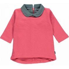 Imps&Elfs roze jurkje met kraag -70% outletprijs te vinden bij de golden oldies. Imps&Elfs gaat eruit dus -70%!!