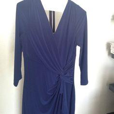 Ralph Lauren Blue Slit Long Dress No trades Ralph Lauren Dresses