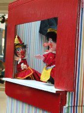 Traditional Punch and Judy Puppet shows, but based on a panto style.    www.magicandpuppetshow.com Punch And Judy, Puppet Show, Puppets, Traditional, My Love, Products, Style, Swag, Doll