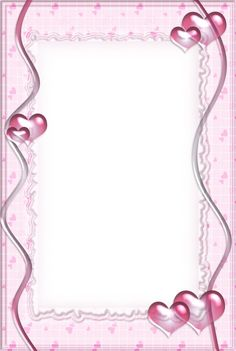 Pink Transparent Frame with Hearts Cool Powerpoint Backgrounds, Printable Lined Paper, Boarders And Frames, Baby Frame, Framed Wallpaper, Borders For Paper, Frame Clipart, Paper Frames, Writing Paper