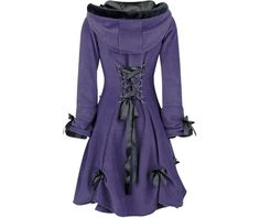 Alice coat purple poizen industries jackets and outerwear 2