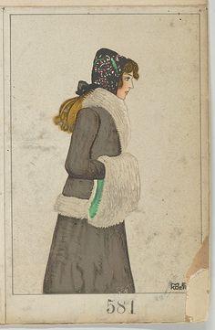 Mode (Fashion), Artist: Mela Koehler (Austrian, Vienna 1885–1960 Stockholm) Publisher: Published by Wiener Werkstätte Date: 1912