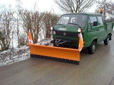 odd plow truck.