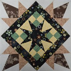 Block for Deanna by jenjohnston, via Flickr. I love this pattern, beautiful quilt block