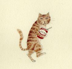 Cat Jam by ohmycavalier on Etsy