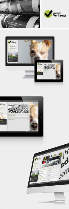 Website Drukkerij Verhaeghe - Bekijk deze website op www.drukkerijverhaege.be