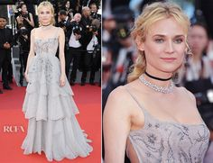 Diane Kruger in Christian Dior Couture Cannes