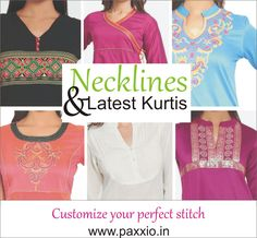 You saved to Paxxio: One Stop Solution for Shopping Make your kurtis look different & Stylish with paxxio online stitching services. Buy the fabric and get it stitched from Paxxio. log on to www.paxxio.in now. Hurry up! Latest spring collection awaits you. #onlinestitching #customizedfashion #newstitching #alteration #ethnic